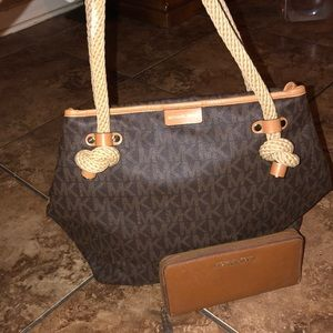 Michael Kors purse & wallet